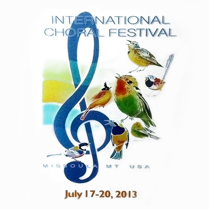 International Choral Festival of Missoula 2013 CD