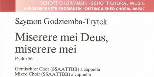 Wydanie kompozycji w prestiżowym Shott Music